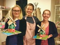 3D Gingerbread Windmill class