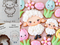From sketch to cookie...