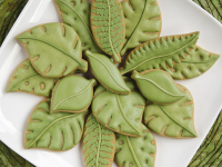 Leaves cookies