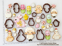 Spring 2019 Cookie Cutter COllection - 3D Cookie Cutter Shop