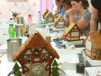 Gingerbread Cuckoo Clock class at Cake, Bake & Love in Voorburg (NL)