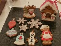 Kerstworkshop (3d) koekjes decoreren bij Taartshoppie in Zwijndrecht (NL)