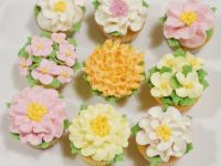 Flower minicupcakes