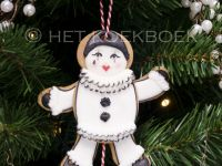 Jumping Jack Pierrot cookie
